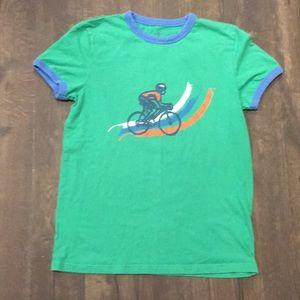 Mini Boden 11/12 motorcycle T-shirt